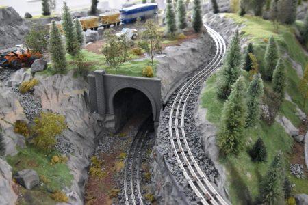 model tunelu
